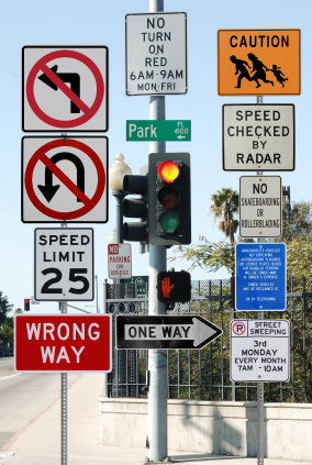 confusing street signs